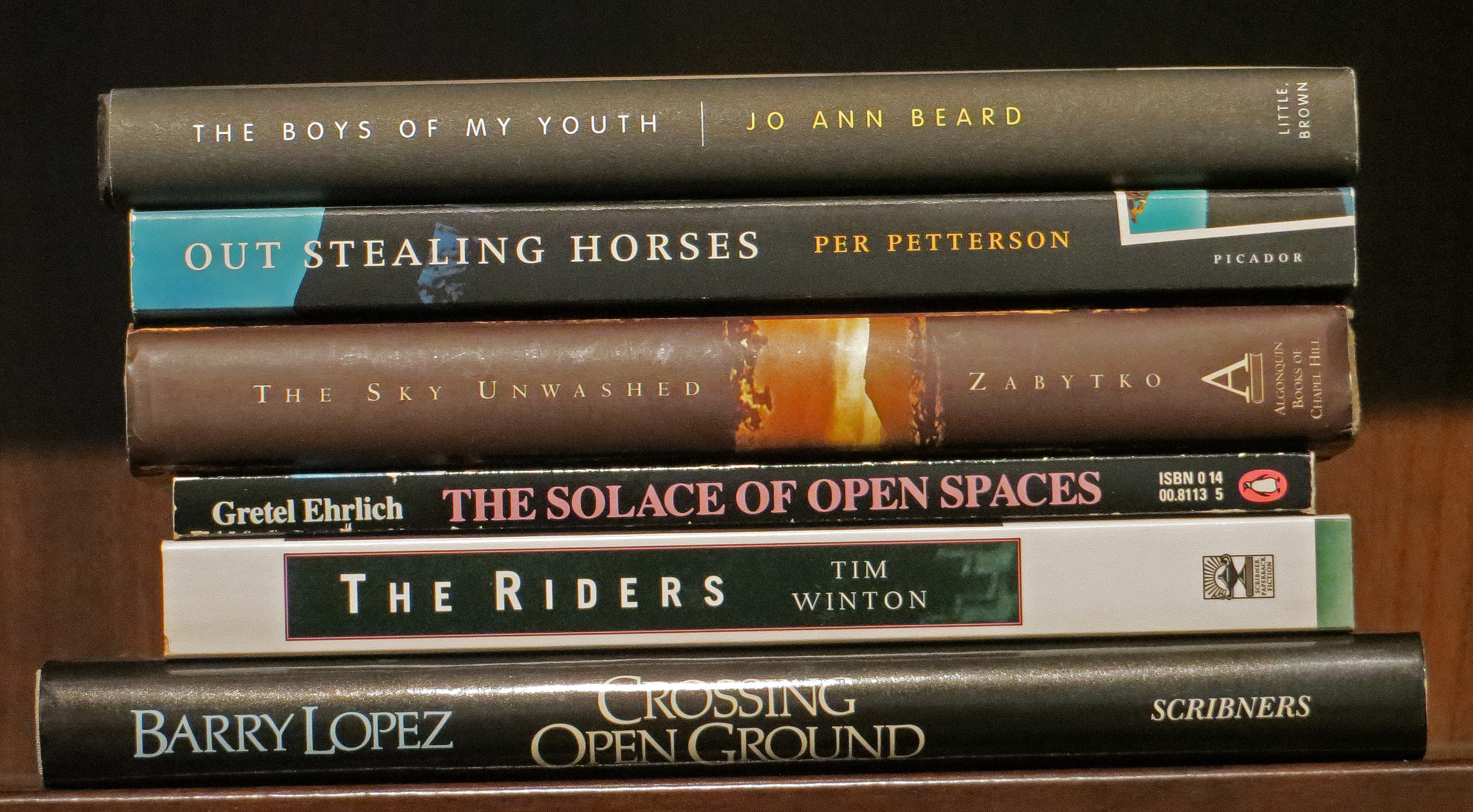 spine poetry march tracy guzeman